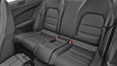 2012 Mercedes-Benz C350 Coupe back seat