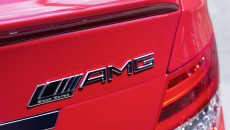 2012 Mercedes C63 AMG Coupe Black Series badge
