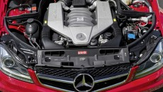 2012 Mercedes C63 AMG Coupe Black Series engine