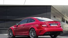 2012 Mercedes C63 AMG Coupe Black Series rear
