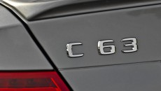 2012 Mercedes C63 AMG Sedan Black Series badge