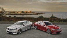 2012 Mercedes C63 AMG Sedan and coupe