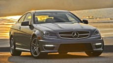 2012 Mercedes C63 AMG Coupe Grey