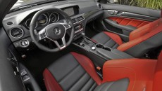 2012 Mercedes C63 AMG Coupe Grey interior