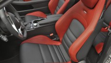 2012 Mercedes C63 AMG Coupe Grey interior seats