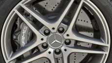 2012 Mercedes C63 AMG Coupe Grey wheel