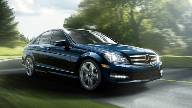 2013 Mercedes C250 Sport Sedan Lunar Blue