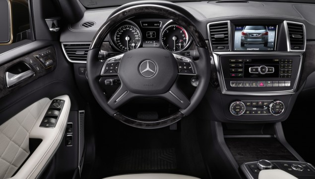 2013 Mercedes-Benz GL-Class Technical Data