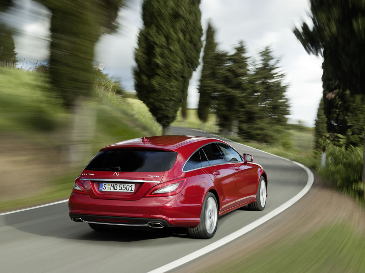 Mercedes-Benz CLS Shooting Brake, CLS 500 4MATIC, exterior 5
