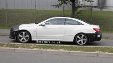 2013 Mercedes-Benz E-Classs Coupe Spy Photo