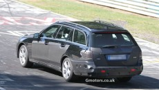 2013 Mercedes-Benz E-Class Estate Facelift Spy Photos rear