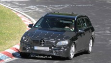 2013 Mercedes-Benz E-Class Estate Facelift Spy Photos nurburgring