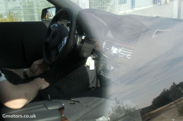 2013 Mercedes-Benz E-Class Estate Interior Spy Photo