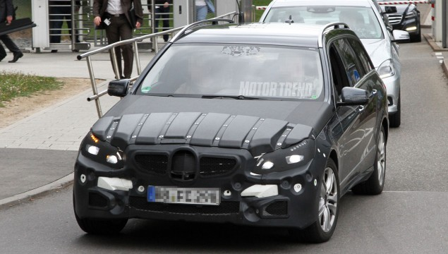 2013 Mercedes-Benz E-Class Wagon Facelift Spied - Update