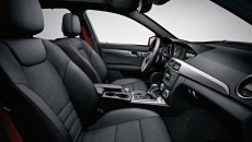 2013 Mercedes-Benz C-Class Black Interior available with Sport Package
