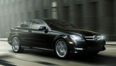 2013 Mercedes C-Class Coupe C250 in Black