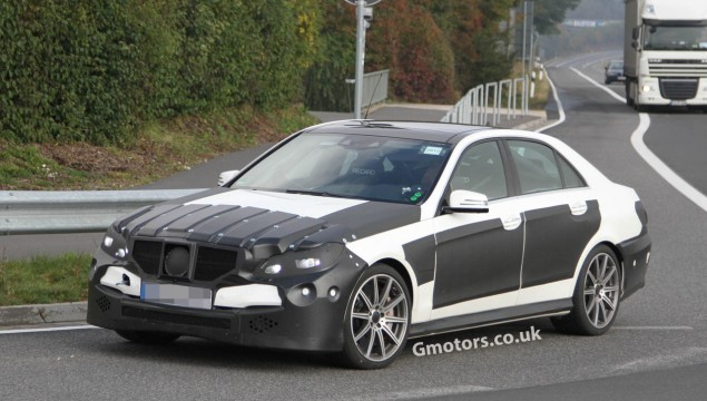 2013 Mercedes E63 AMG First Spy Photos
