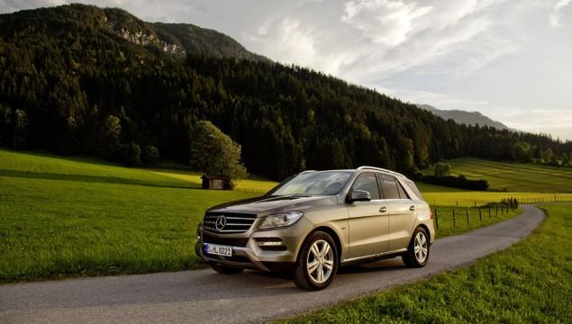 2013 Mercedes ML500 4MATIC BlueEFFICIENCY Made Public