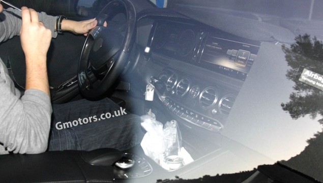 2013 Mercedes-Benz S-Class Interior and Exterior Spied