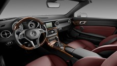 2012 Mercedes SLK-Class Interior with Trim Package