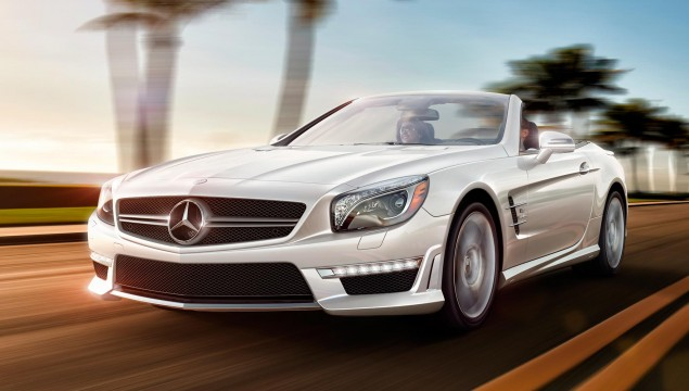 2013 Mercedes-Benz SL Roadster in Diamond White
