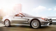 2013 Mercedes SL Roadster in Iridium Silver