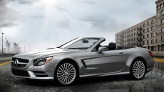 2013 Mercedes SL Roadster in Palladium Silver