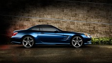 2013 Mercedes SL Roadster in Lunar Blue