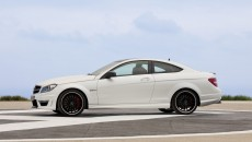 2013 Mercedes C63 AMG Coupe in White