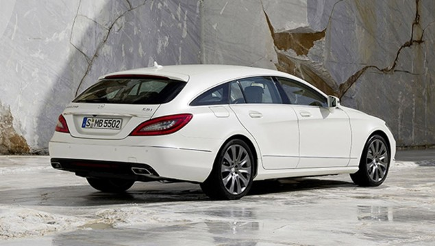 2013 Mercedes-Benz CLS Shooting Brake Exterior Rear