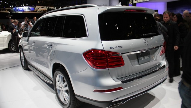 2013 Mercedes-Benz GL-Class at the 2012 New York Auto Show