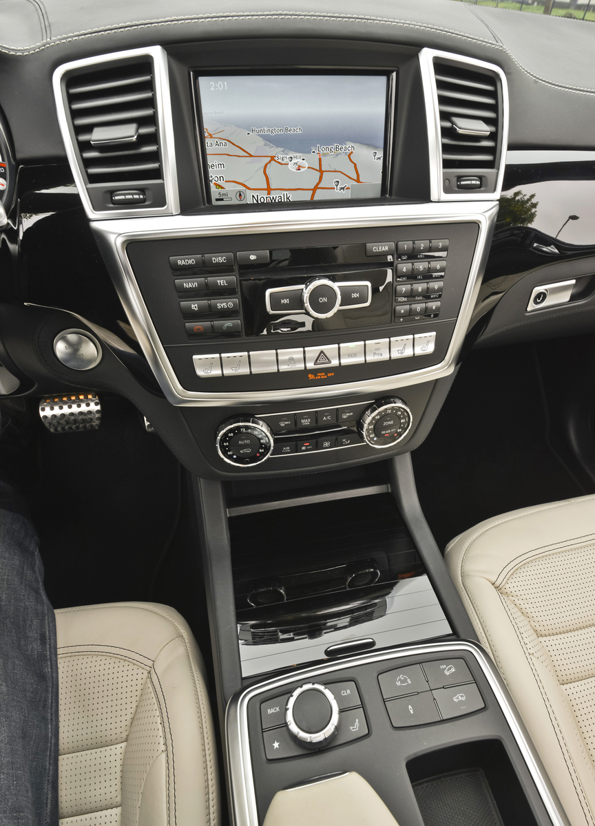 2013 Mercedes-Benz GL63 AMG Interior