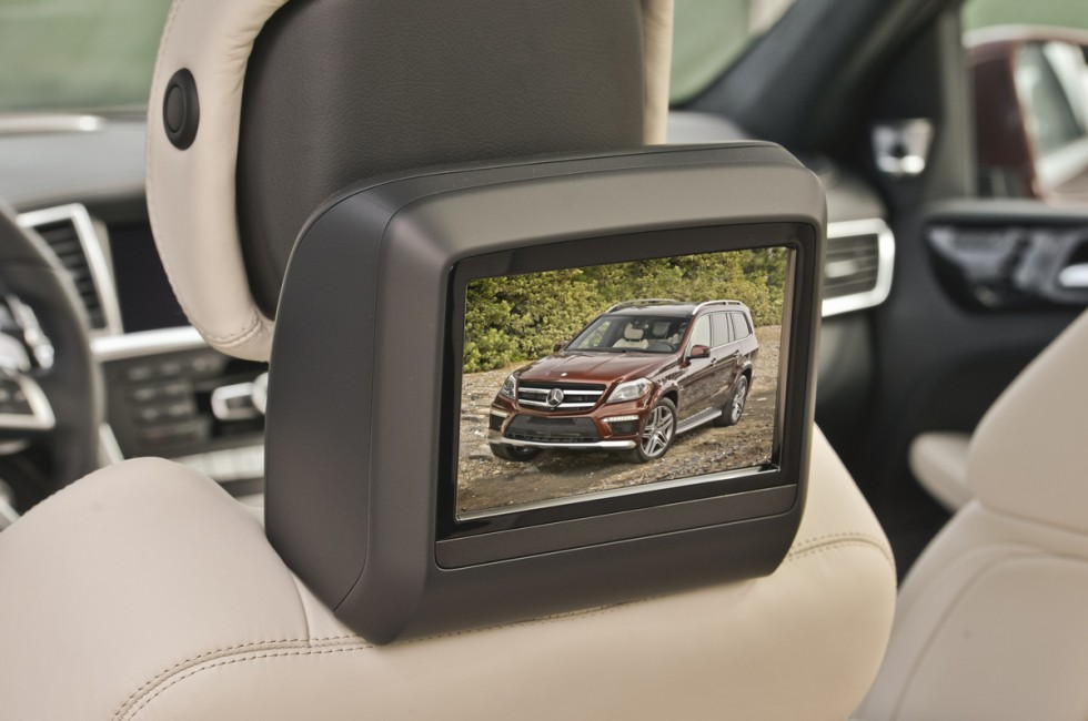 2013 Mercedes-Benz GL63 AMG Interior TV