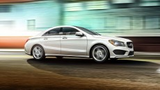 2014 Mercedes CLA250 in Cirrus with Sport Package