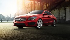 2014 Mercedes CLA250 in designo Patagonia Red with Sport Package