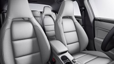 2014 Mercedes CLA250 interior in Ash leather with standard sport seating