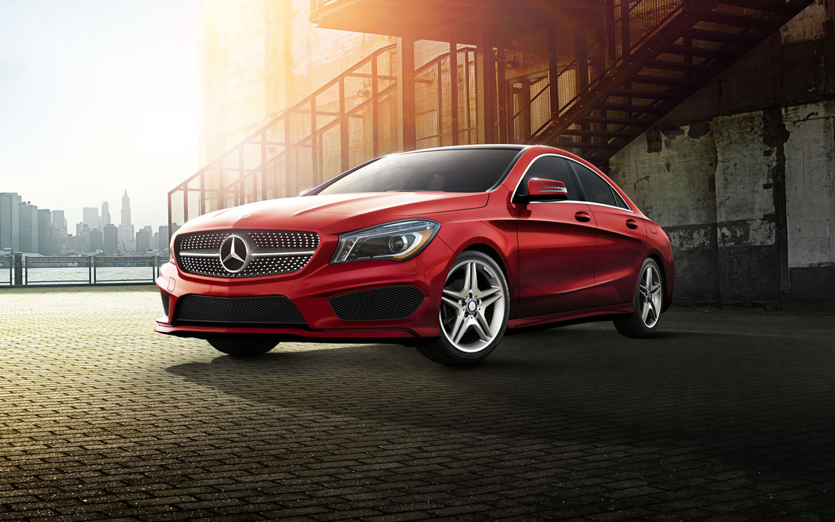 2014 Mercedes CLA Red