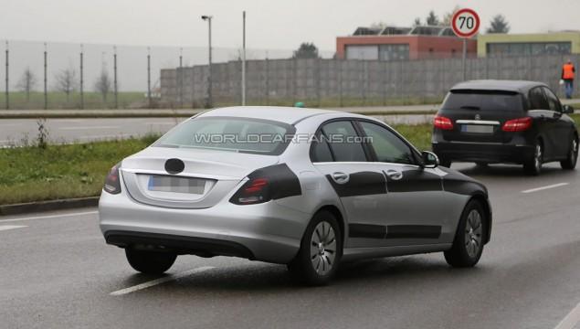 2014 Mercedes-Benz C-Class Spied