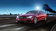 2014 Mercedes E-Class Coupe Mars Red