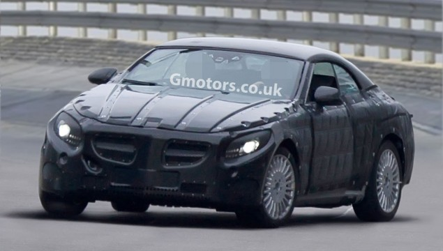 2014 Mercedes-Benz S-Class Cabriolet Spied With False Hardtop