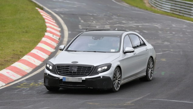 2014 Mercedes S63 AMG Spy Photo