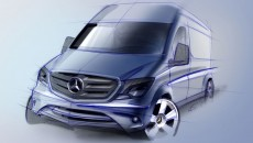 2014 Mercedes-Benz Sprinter Van rendering