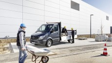 2014 Mercedes-Benz Sprinter Van construction