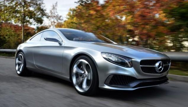 2014 Mercedes S-Class Coupe Concept