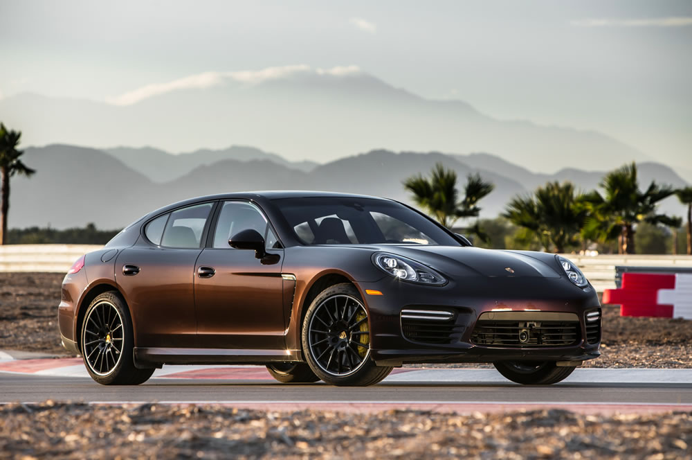 First Place: Porsche Panamera Turbo