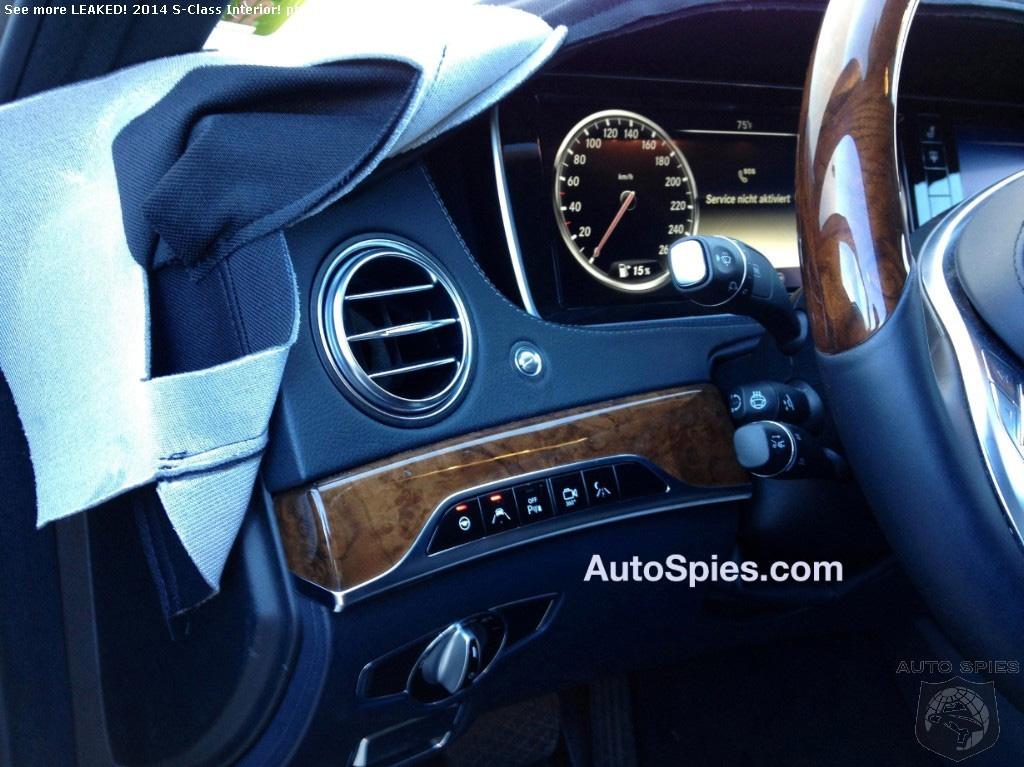 2014 s class interior 3 - Mercedes Benz 2014 S Class Interior