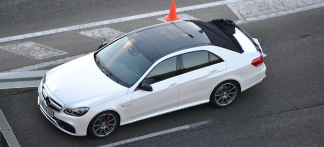 2014 Mercedes E-Class Facelift – First Photo of AMG Variant