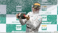 Rosberg and Hamilton Battle for Victory in Brazil