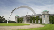 2014 Goodwood Festival of Speed Mercedes-Benz Sculpture