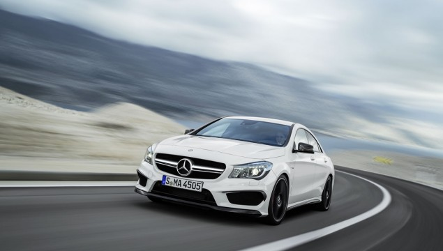 2014 Mercedes CLA45 AMG Debuts at New York Auto Show